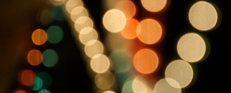 Bokeh - like you care what shape it is.