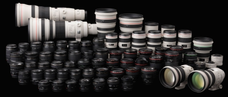 Loads of lenses. You want them all.