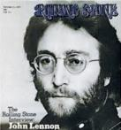 Rolling Stone cover, featuring John Lennon, 1971