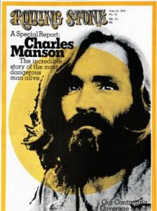 Rolling Stone, Charles Manson, 1970. Looking like George Harrison.
